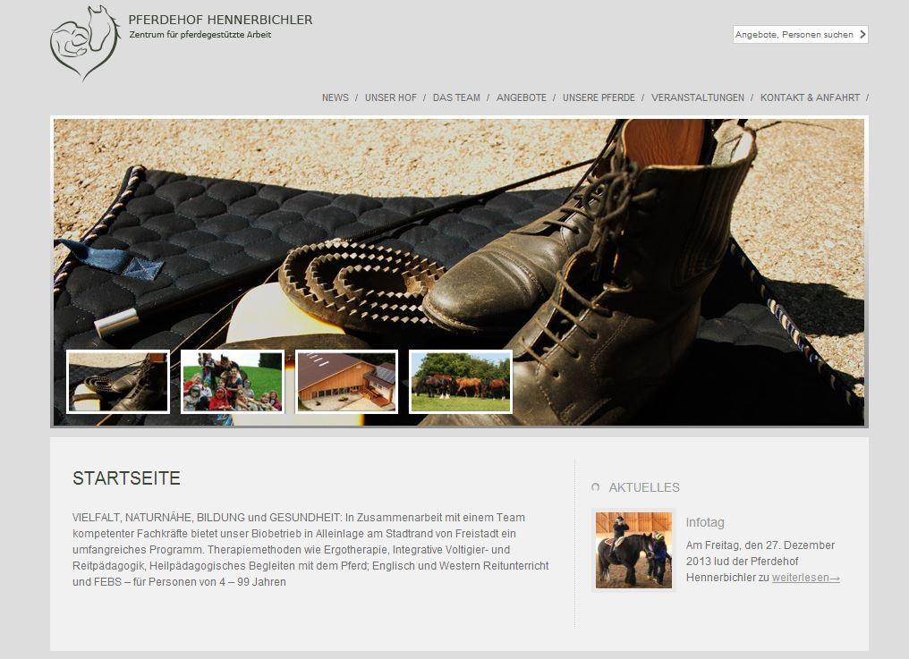 www.pferdehof-hennerbichler.at