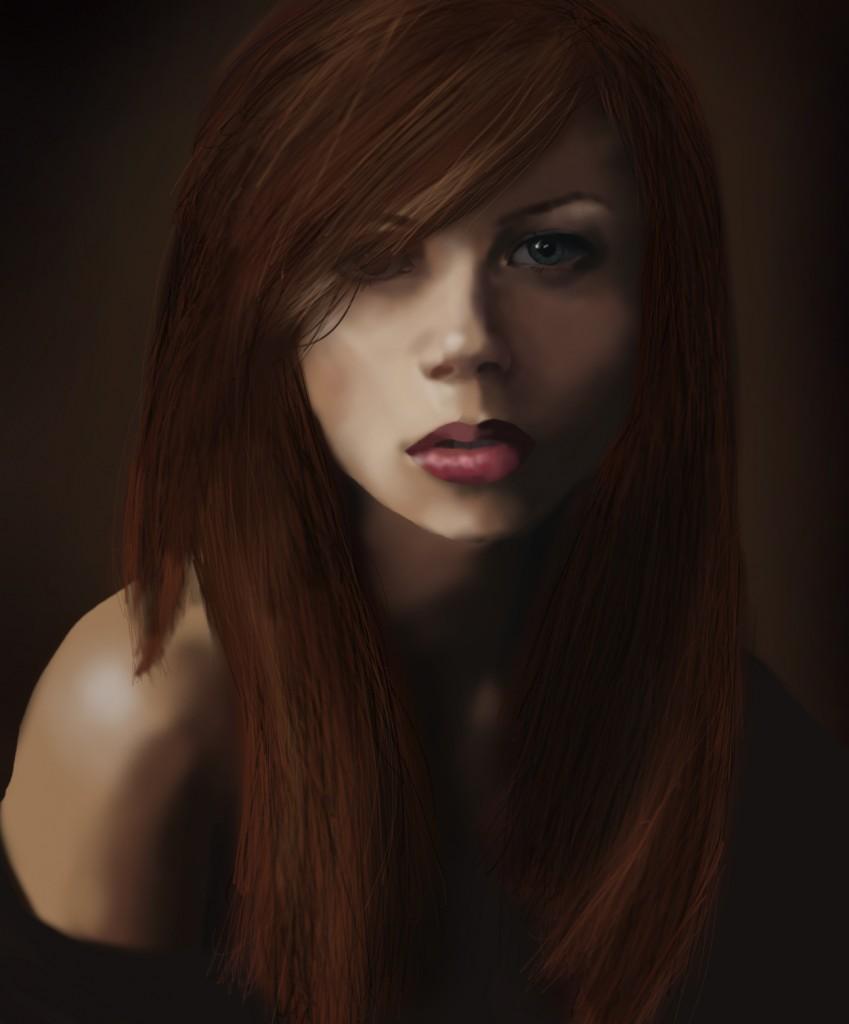 Digital Painting - Portrait 01